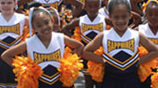 Youth Matters Sapphire Cheerleaders