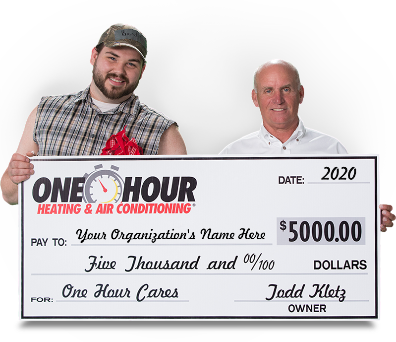 One Hour Cares Giving Away 5 000 To A Worthy Cause In Hampton